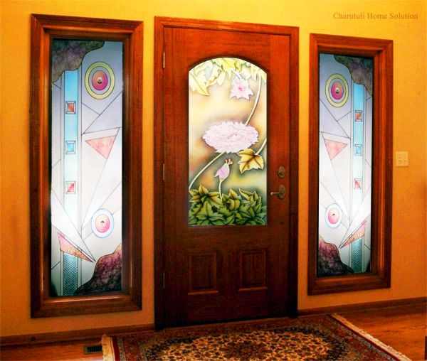 Floral Glass Designs BD -Charutuli Home Solution