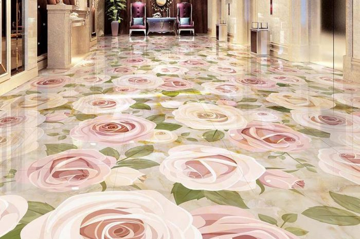 Rosy 3D Floor Designs Bangladesh - Charutuli Home Solutions