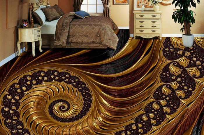 Circular Textured 3D Floor Designs Bangladesh