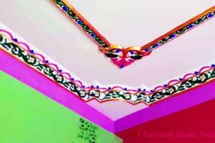 Colorful Edgy Gypsum Designs Bangladesh - Charutuli Home Solution