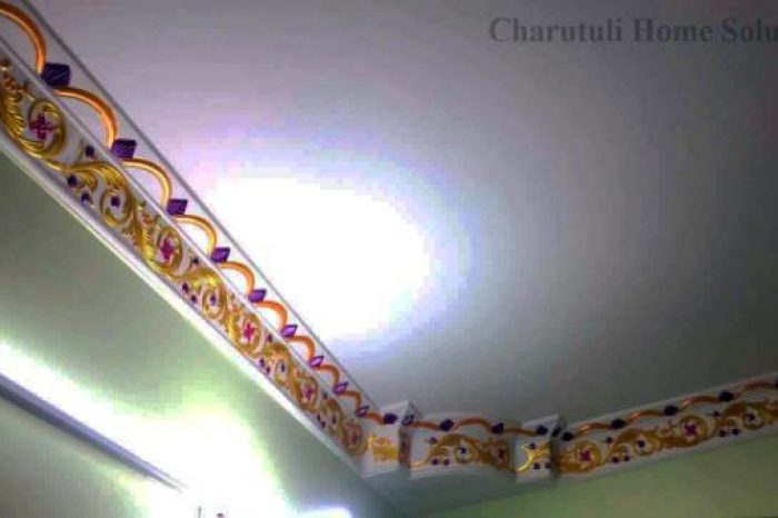 Edge Designs with Gypsum in Bangladesh - Charutuli Home Solution