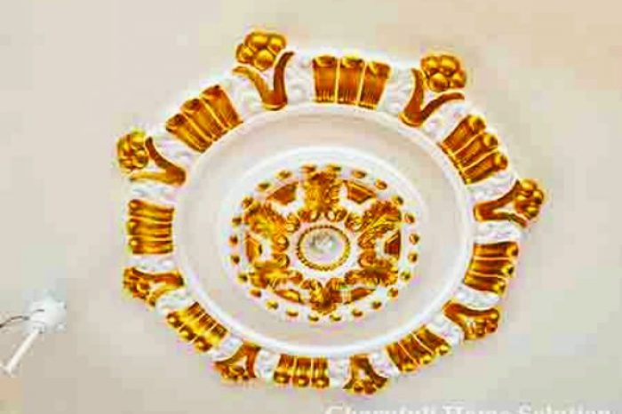 Golden Fan Design Gypsum Bangladesh - Charutuli Home Solution
