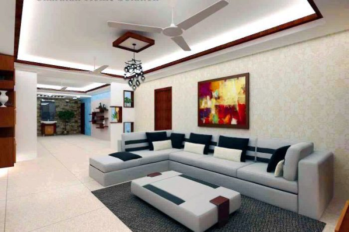 Interior Drawing Room Design Bangladesh - Charutuli Home Solution