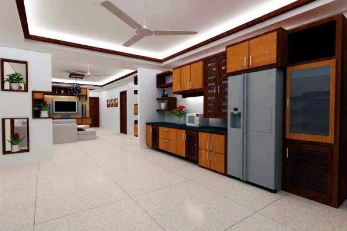 Kitchen Interior Design Bangladesh - Charutuli Home Solution
