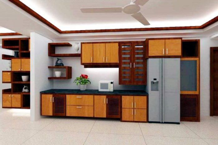 Kitchen Room Interior Design Bangladesh - Charutuli Home Solution