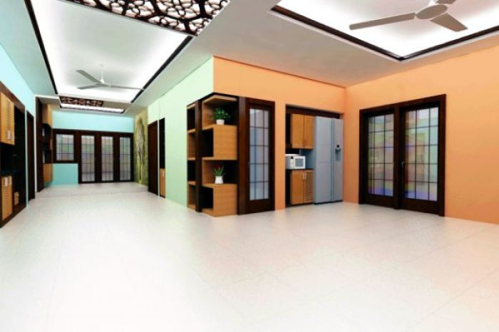 Office Room Interior Design Bangladesh - Charutuli Home Solution