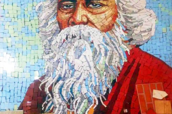 Rabindranath Tagore Mural Designs BD- Charutuli Home Solution